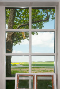 Stort fönster