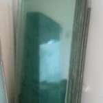 Stora munblåsta glas