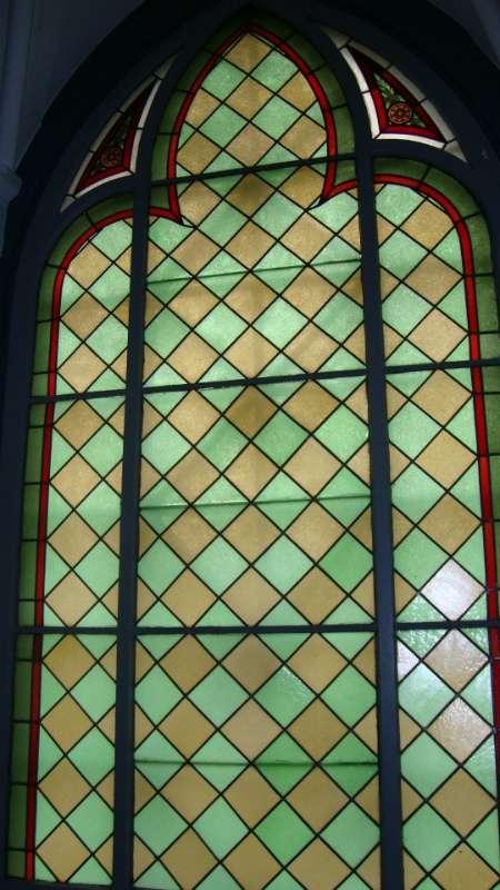 Fönster Ljusterö kyrka