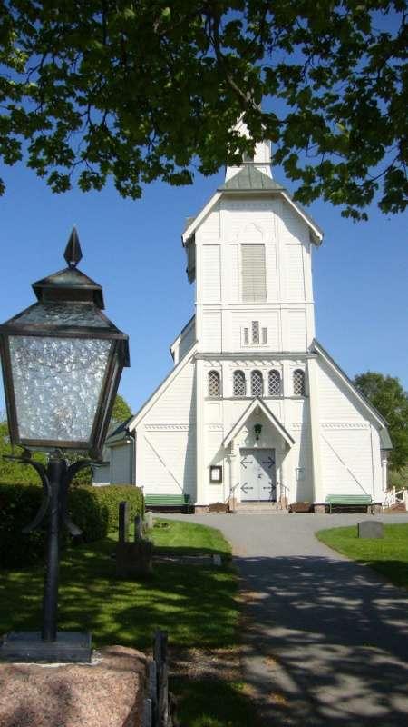 Ljusterö kyrka.
