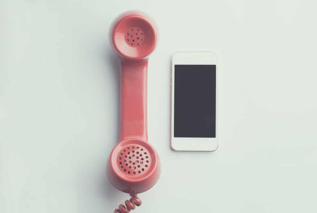 Nu kan du nå oss direkt via mobilen